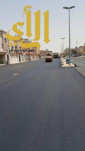 بلدية الجبيل: اعتماد خطة لسفلته الإحياء وصيانة الشوارع الرئيسة