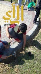 بلدية الظهران تستضيف 6 مدارس في أسبوع الشجرة الـ 40