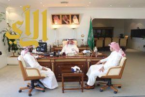 رئيس غرفة ينبع يلتقي بمدير عام ميناء الملك فهد الصناعي