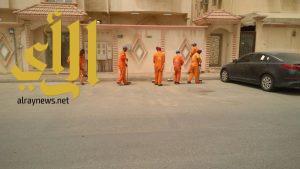 بلدية الجبيل تنهي حملة نظافة الـ90 يوم في المحافظة