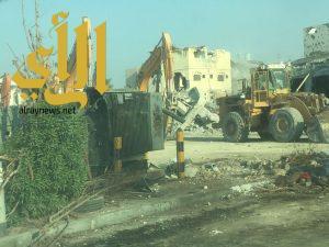 أمانة الشرقية: الانتهاء من كامل أعمال الهدم في حي المسورة