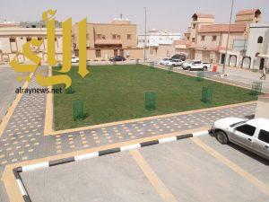 """3 حدائق جديدة تدشنها بلدية حفر الباطن ضمن مبادرة """" أنسنة المدن """""""