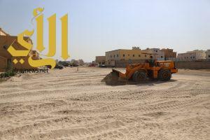 بلدية الخبر تردم 92 مستنقع في العزيزية