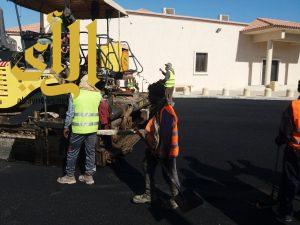 بلدية الخفجي تواصل أعمال المرحلة الأولى لإعادة سفلتة بعض الشوارع