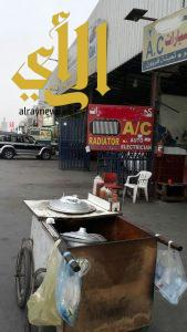 بلدية الجبيل: حملة رقابية لمنع البيع الجائل وازالة البسطات العشوائية المخالفة
