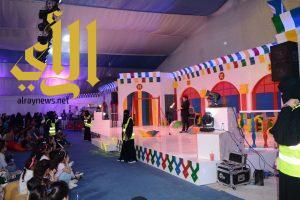 """11 ركناً وألعاب بهلوانية جذبت الصغار إلى خيمة الطفل في """"صيف الشرقية"""""""