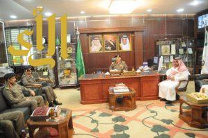 مدير شرطة الجوف يدشن حملة العنوان الوطني بالتعاون مع البريد السعودي