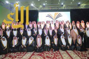 مدير جامعة الأمير سطام بن عبدالعزيز يشهد احتفال تخريج الدفعة السابعة من كليات وادي الدواسر
