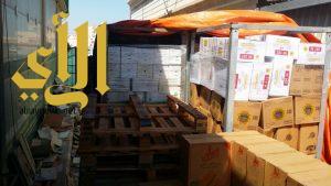 بلدية وسط الدمام تغلق مستودع غذائي مخالف للاشتراطات الصحية