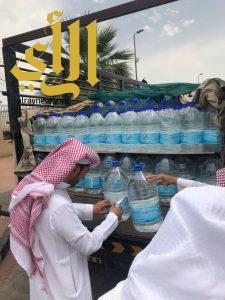 بلدية وسط الدمام تضبط سيارة تنقل 1000 عبوة مياه لا تحمل تاريخ صلاحية مجهولة المصدر