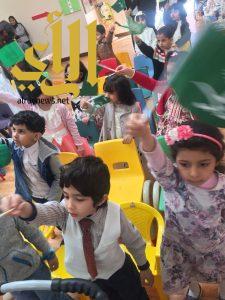 الأطفال المعوقين يشاركون روضة أبها الحادية عشرة ختام أنشطة الفصل الدراسي الأول