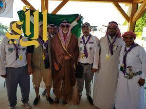 كشافة المملكة تعرض الثقافة السعودية ورسل السلام في أمريكا