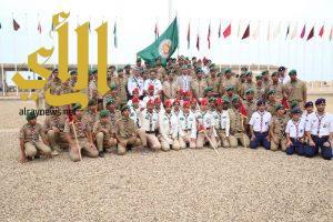 كشافة المملكة تواصل مشاركتها بالمخيم الصيفي في سلطنة عمان