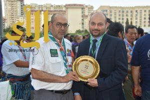 نائب سفير المملكة في اذربيجان : يشيد بدور الكشافة في نقل الثقافة السعودية للعالم الخارجي