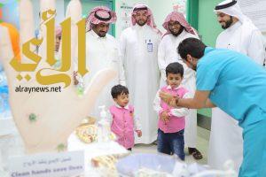 وحدة غسيل الكلى بمستشفى وادي الدواسر تشارك في اسبوع مكافحة العدوى