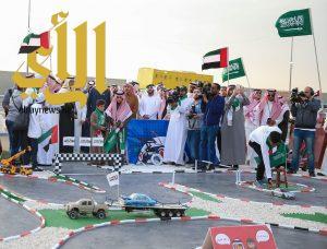 """""""الرياضات اللاسلكية"""" تحتفل باليوم الوطني الإماراتي الـ 46 في بنبان"""