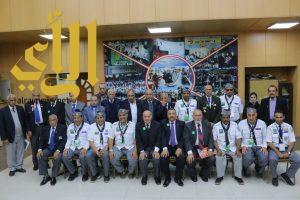 رواد كشافة المجمعة يزورون مقر الكشافة والمرشدات في مصر