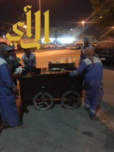 بلدية غرب الدمام تغلق 3 محلات مخالفة وتصادر 3 عربات لمواد غذائية في ضاحية الملك فهد