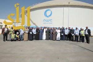 """""""الفضلي"""" يدشن أول مليون م3 من مشروع الخزن الاستراتيجي بشمال غرب الرياض"""