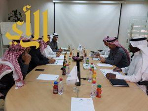 اجتماع تنسيقي مشترك بين وزارة التجارة والاستثمار وجمعية الكشافة