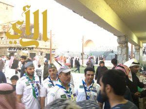 رواد كشافة المملكة يطلعون على تراث منطقة الباحة في الجنادرية
