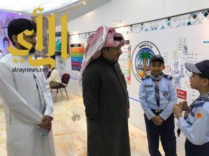 """كشافة وزارة التعليم تعرض مبادراتها في """" رسل السلام """" بالجنادرية"""