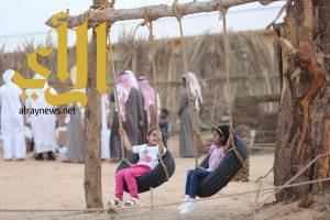 """الألعاب الشعبية تستقطب الأطفال في مهرجان """" وادينا .. تراث واصالة """""""
