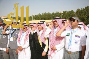 محافظ عنيزة يًدشن ساحة عبدالله الفرة الكشفية
