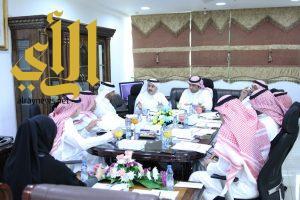 المجلس الجديد لغرفة الخرج يعقد ثاني اجتماعاته