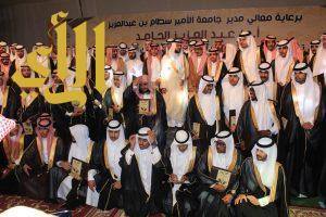 تخريج الدفعة الثامنة من طلاب جامعة الأمير سطام بن عبدالعزيز بوداي الدواسر والسليل