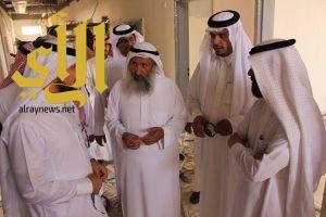 مدير جامعة الأمير سطام بن عبدالعزيز يتفقد مشاريع محافظتي وادي الدواسر والسليل