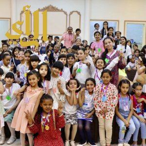 اختتام فعاليات نادي الفراشات بمركز دانة في وادي الدواسر