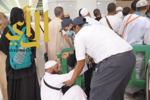 جوالة تقنية الدمام تشارك في خدمة ضيوف الرحمن في رمضان