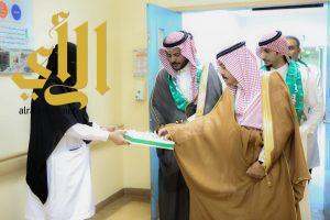 أنشطة متنوعة لمستشفى في وادي الدواسر ضمن احتفائه باليوم الوطني