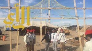 كشافة المملكة تواصل مشاركتها في المخيم الكشفي السنوي الــ 71 بالكويت