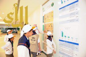 كشافة التعليم يشاركون في استزراع المنتزه الوطني بالقصيم