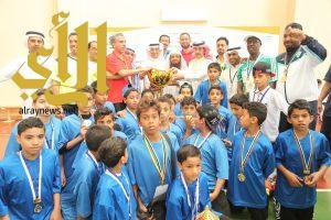 اختتام البطولة الرياضية للصغار بوادي الدواسر