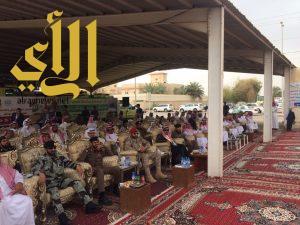 محافظ وادي الدواسر يشهد احتفالية الدفاع المدني باليوم العالمي