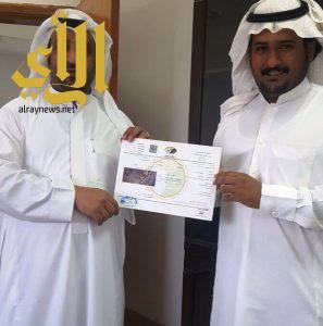 بلدية مربه الفرعية تصدر أول رخصة صحية