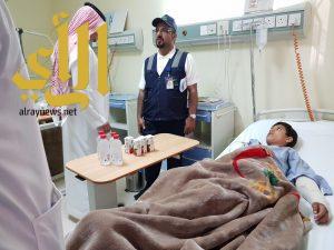 مدير صحة عسير بالنيابة يتابع حادث طلاب مركز الفرشة