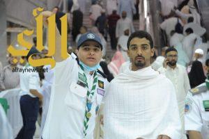 كشافة المملكة ينذرون أنفسهم لخدمة الآخرين في المسجد الحرام
