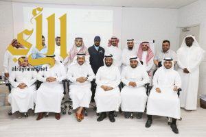 انطلاق جدول أعمال اللقاء التعريفي لعمداء الكليات التقنية ومدراء المعاهد الصناعية بمحافظات مكة