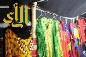 الحرفيات في وادي الدواسر يعرضن منتجاتهن في مهرجان وادينا تراث وأصالة