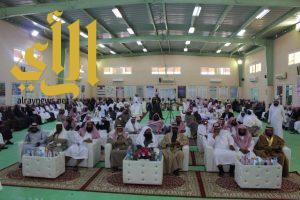 مدير التعليم بوادي الدواسر يشهد احتفائية ثانوية الملك سلمان بتكريم قائدها السابق