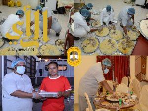 بر بلجرشي : مشروع حفظ النعمة يجمع 45 طن من فائض الطعام خلال 30 يوم