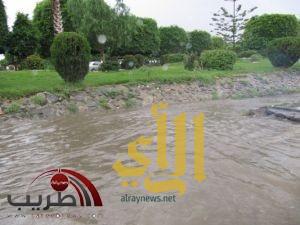 هطول أمطار غزيرة على عسير والمحافظات التابعه لها