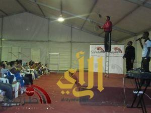 مشاركة صحيفة طريب في السرك بمهرجان خميس مشيط