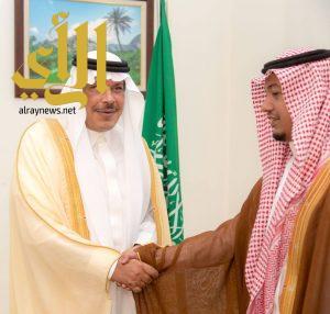أمير الباحة يستقبل مدير عام الشئون الصحية بالمنطقة