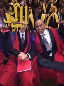 الأمير الدكتور تركي بن خالد يحتفي بحفل تخرجه في جامعة كنجز كوليج لندن