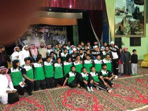 ادارة الفرسان تحتفل ببطل بطولة دوري منطقه عسير